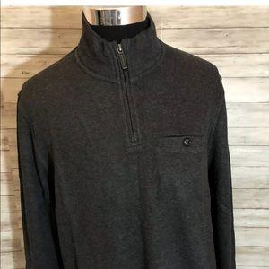 Men Ted Baker London NEW! 1/4 zip Sweater N12